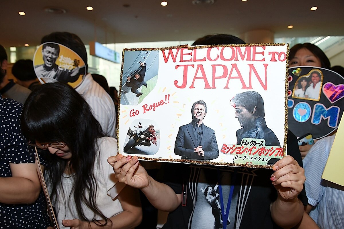 TOKYO, JAPAN - JULY 31: A general view during the 'Mission: Impossible - Rogue Nation' World Press Tour at Haneda Airport on July 31, 2015 in Tokyo, Japan. (Photo by Jun Sato/Getty Images for Paramount Pictures International)