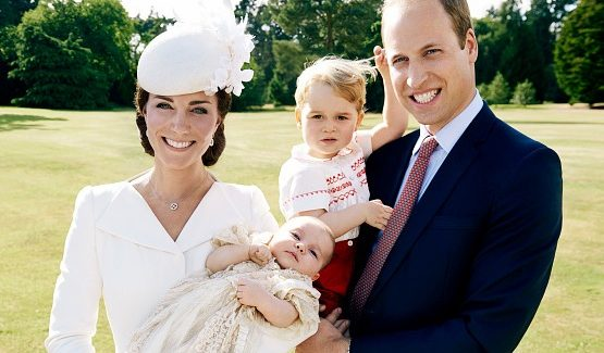 Official photos of Princess Charlotte's christening