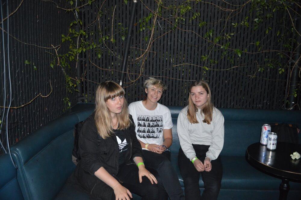 Andrea Thuesen, Benedicte Pierleoni and Lola Hammerich