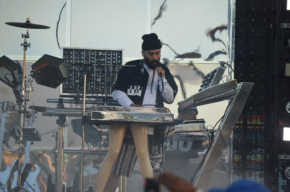 Chromeo - Brian Anderson Monsters and Critics 2015 ©