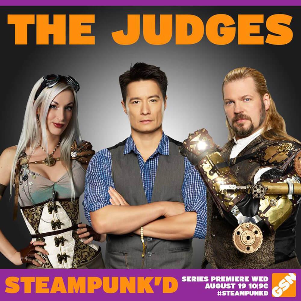 Judges Kato, Matt King & Thomas Willeford