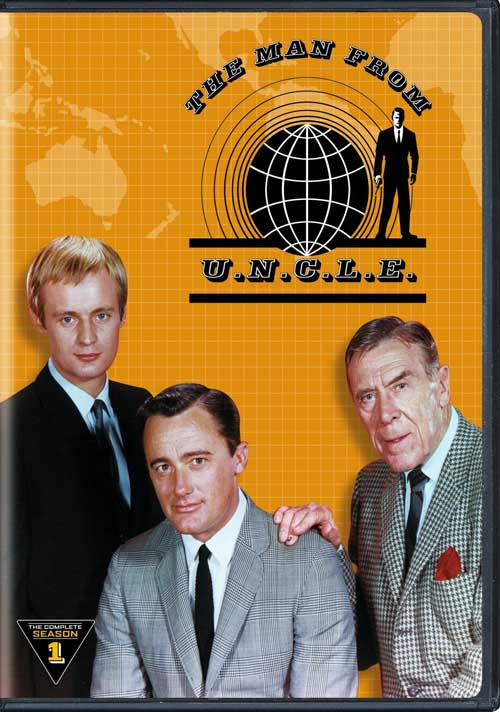 The Man from U.N.C.L.E.: The Complete First Season on DVD is a fun way to spend an afternoon.