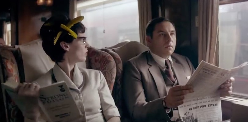 A scene from Agatha Christie's Partners in Crime