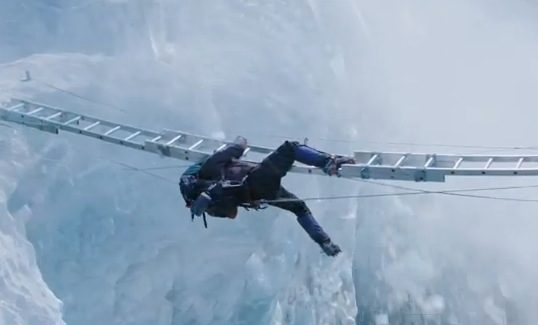 A scene from Everest.