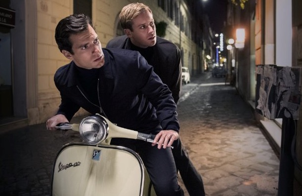 A still from The Man from U.N.C.L.E.