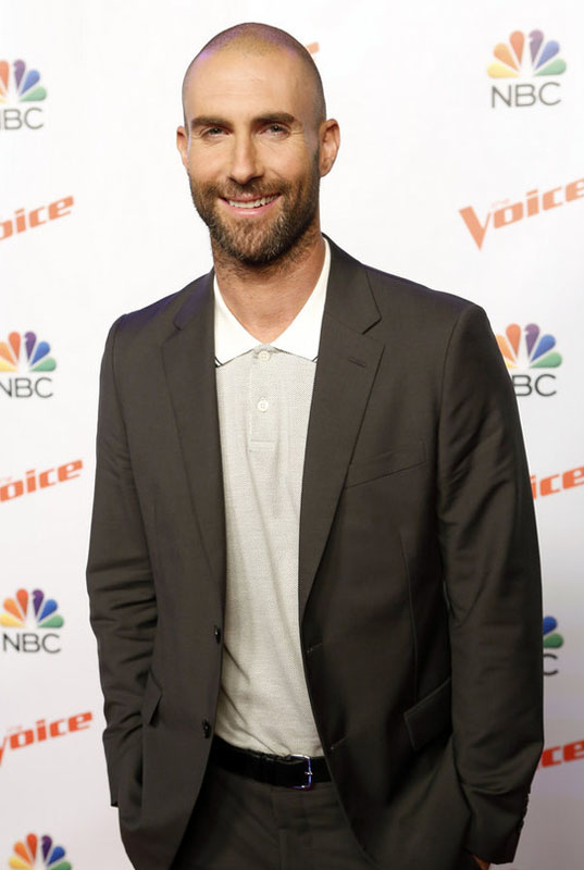 "THE VOICE -- ""Season 9 Press Junket"" -- Pictured: Adam Levine -- (Photo by: Trae Patton/NBC)"