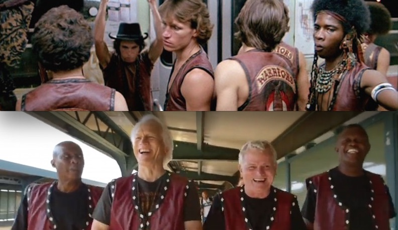 Watch Cast Of 'The Warriors' Recreate Their Iconic Subway Ride Home To Coney Island