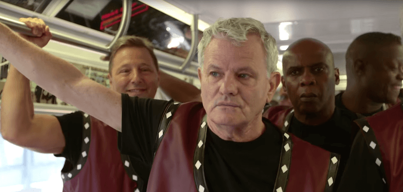 The Warriors Subway Scene Reunion 3