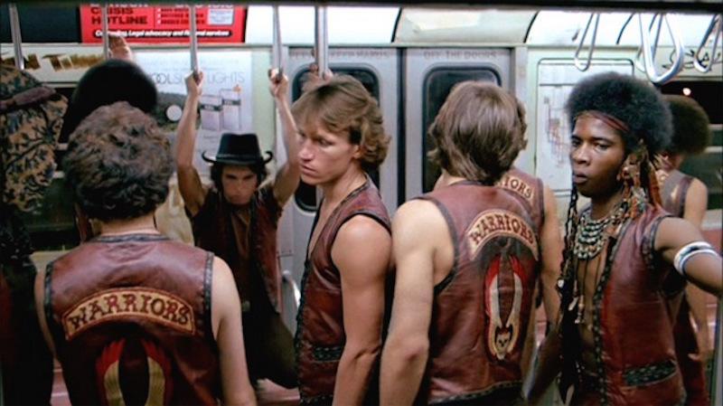 The Warriors Subway Scene