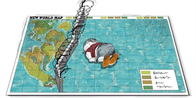 Cartoon by Rafat al-Khateeb.