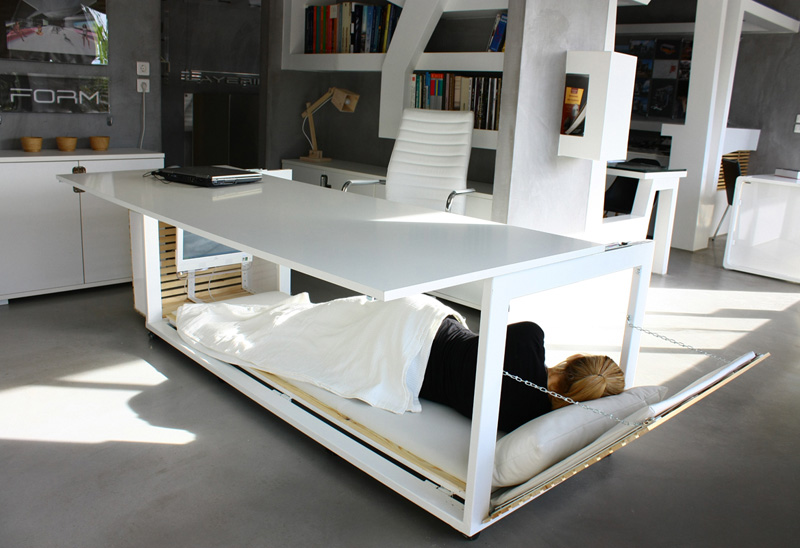 The Nap Desk Is Finally Here. Now There's No Excuse To EVER Go Home