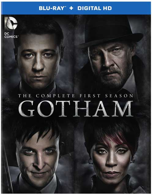 Gotham adds too many villains for season one, but the series is rich in production and story.