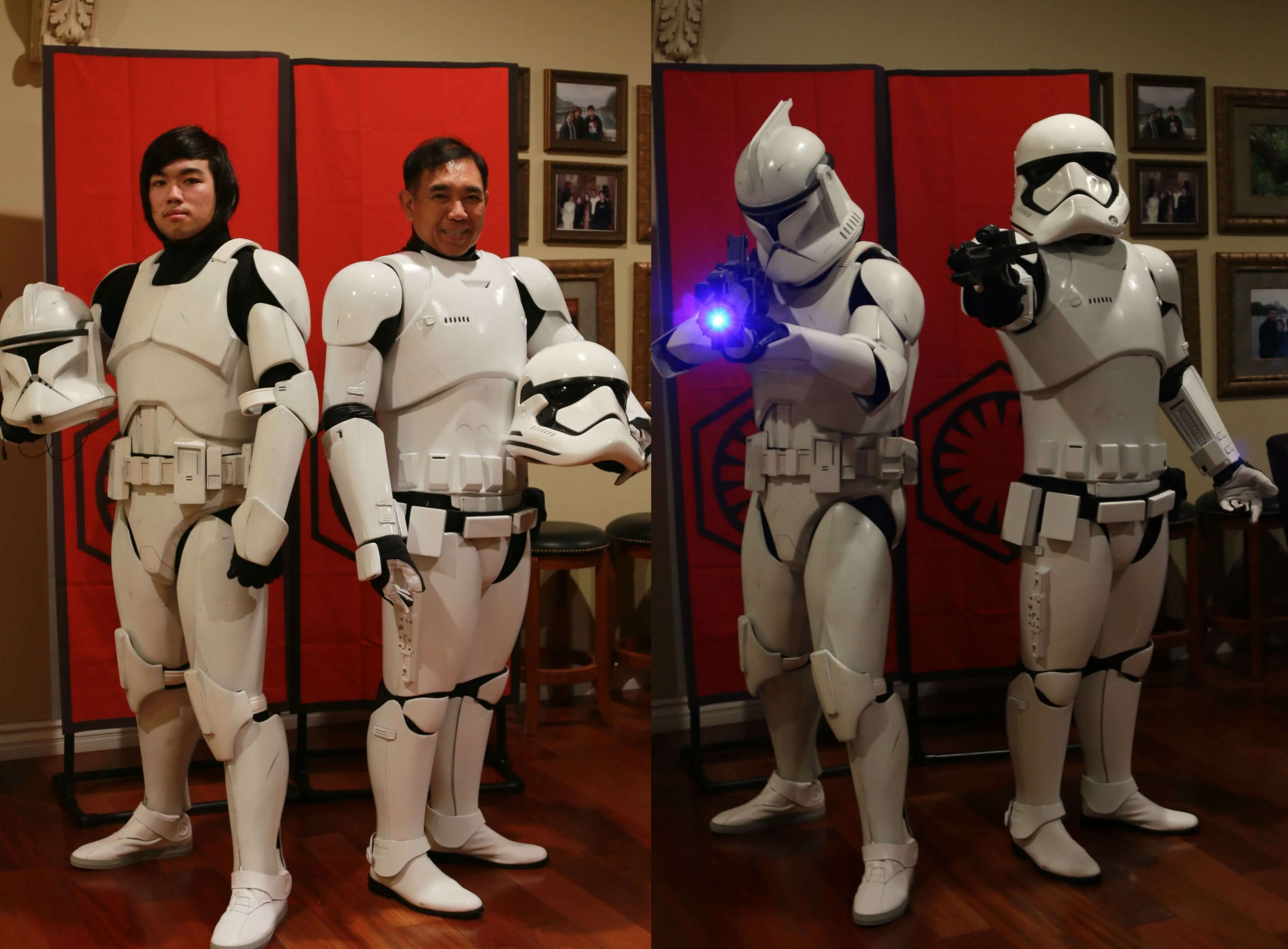 The Force Is Strong In My Family – I Turned My Dad Into A Stormtrooper