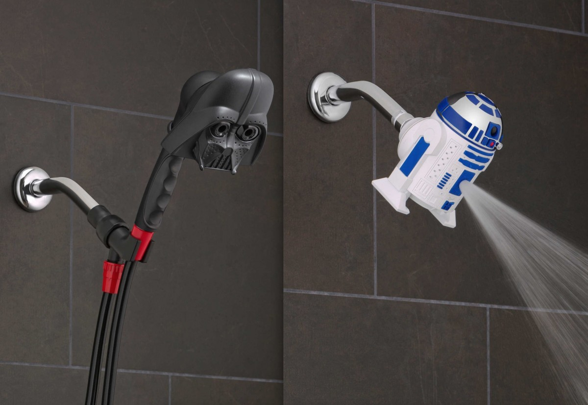 Feel The Force With These Star Wars Shower Heads
