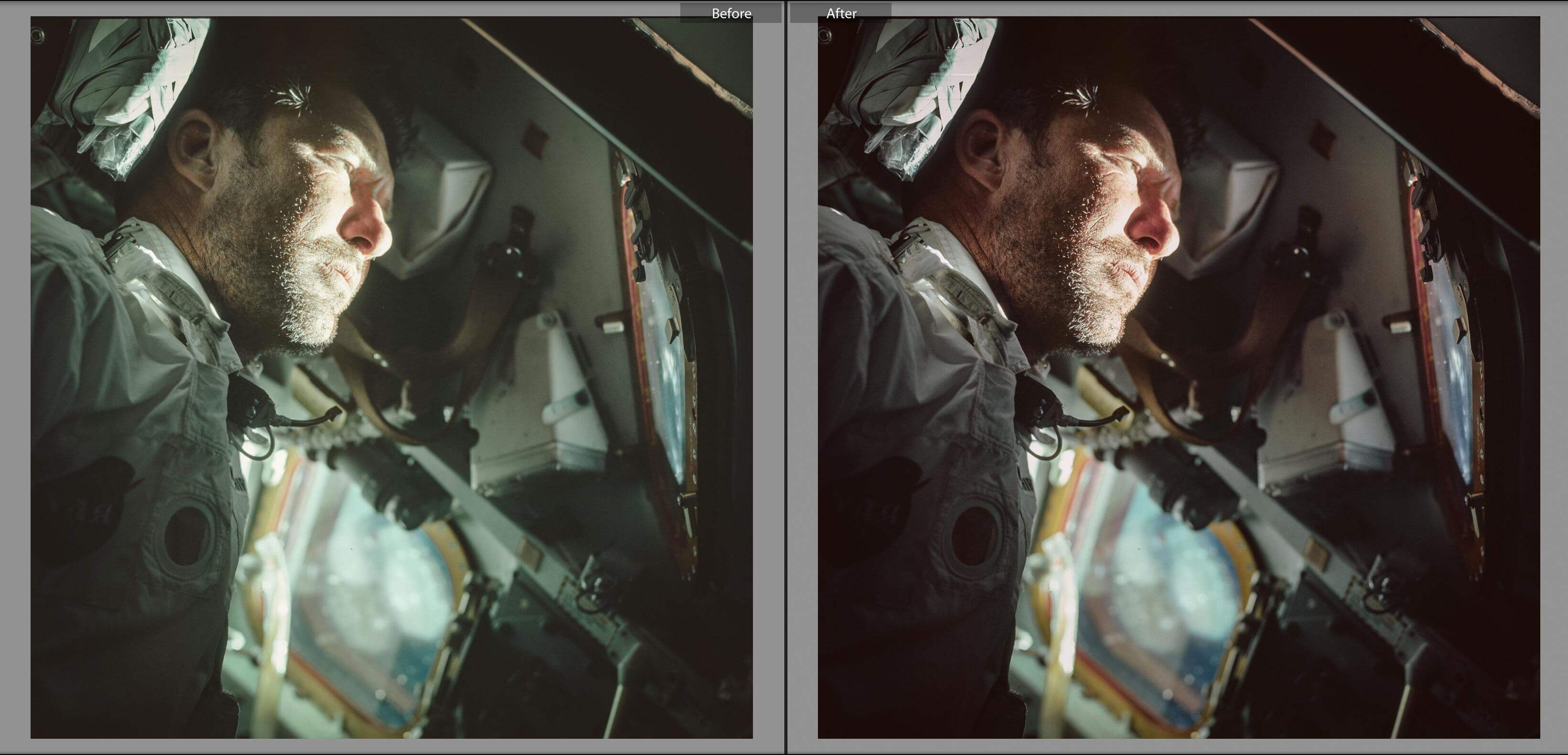 Stunning Color Corrected Images From Apollo Missions