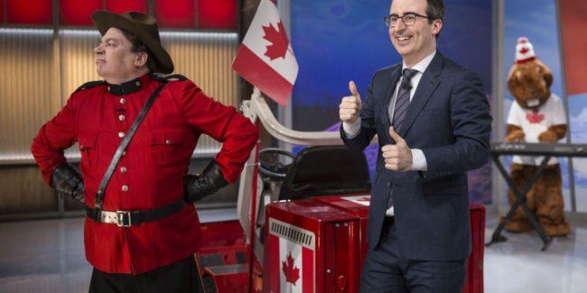 Memes, Canadian Politics Highlight 'Last Week Tonight' VIDEOS