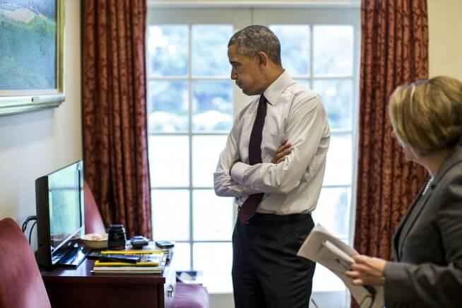 Watch President Obama's changing reaction to mass shootings (video)