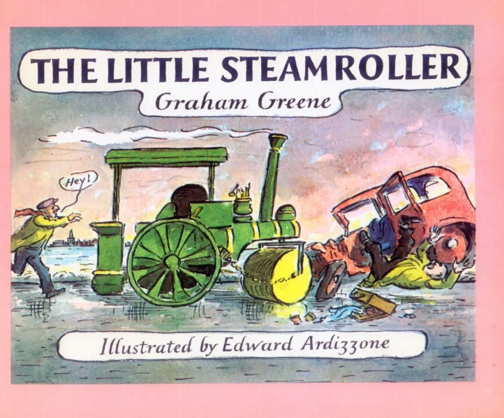 The Little Steamroller book cover
