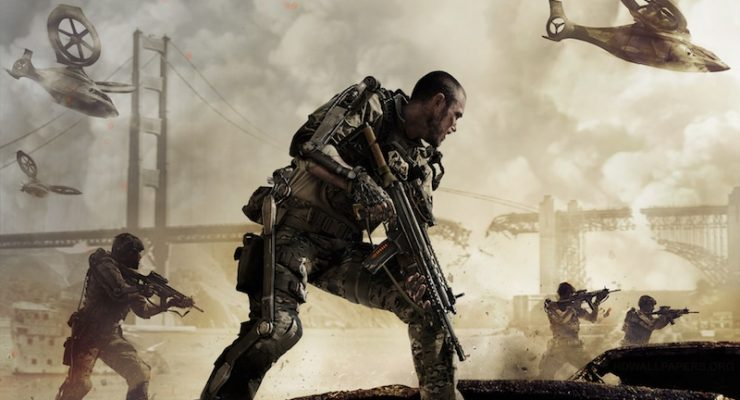 Call of Duty: Advanced Warfare, one of the ten best Xbox One games to make our list