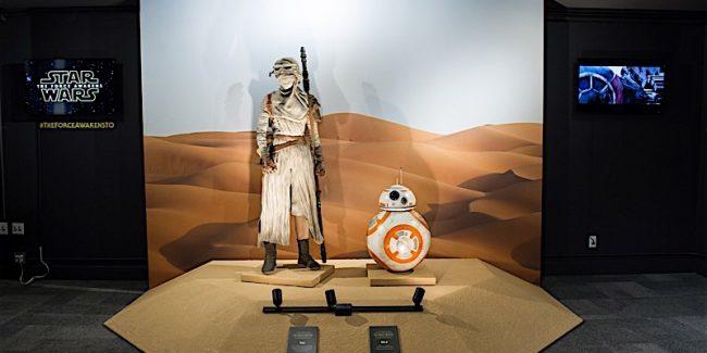 Star Wars: The Force Awakens exhibit in Toronto