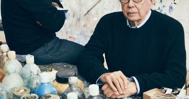 Abstract Master Ellsworth Kelly, Dead At 92