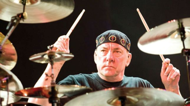 May 4, 2008 - Concord, California, USA - NEIL PEART of RUSH live at Concord Pavilion. (Credit Image: © Jerome Brunet/ZUMA Press)