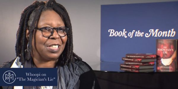 Whoopi Goldberg December Guest Book of the Month Judge