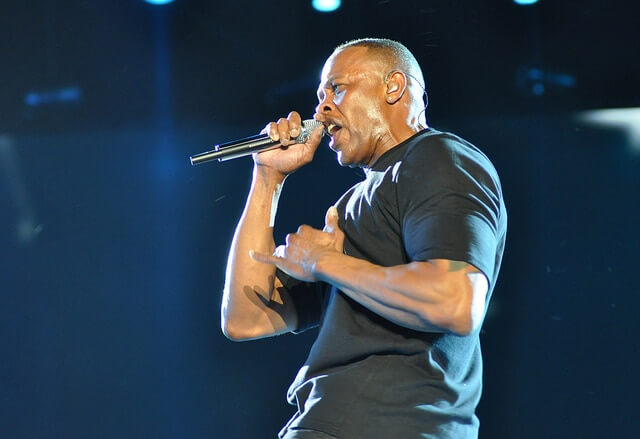 Dr Dre, the richest rapper in the world