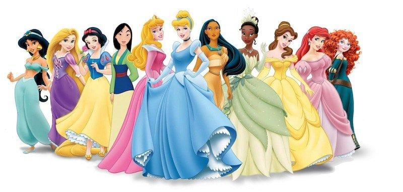List of all Disney Princesses