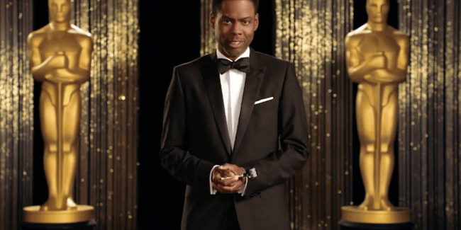 Heavy-handed Oscars with Chris Rock, Sacha Baron Cohen and Stacey Dash