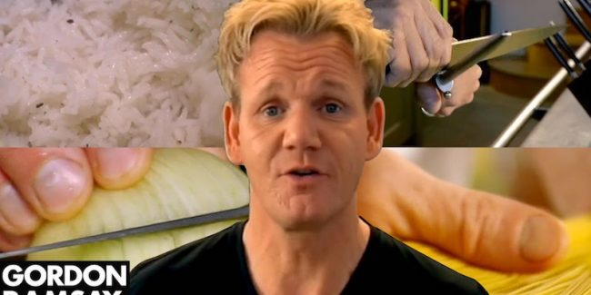 Gordon Ramsay shows how to master 5 basic cooking skills