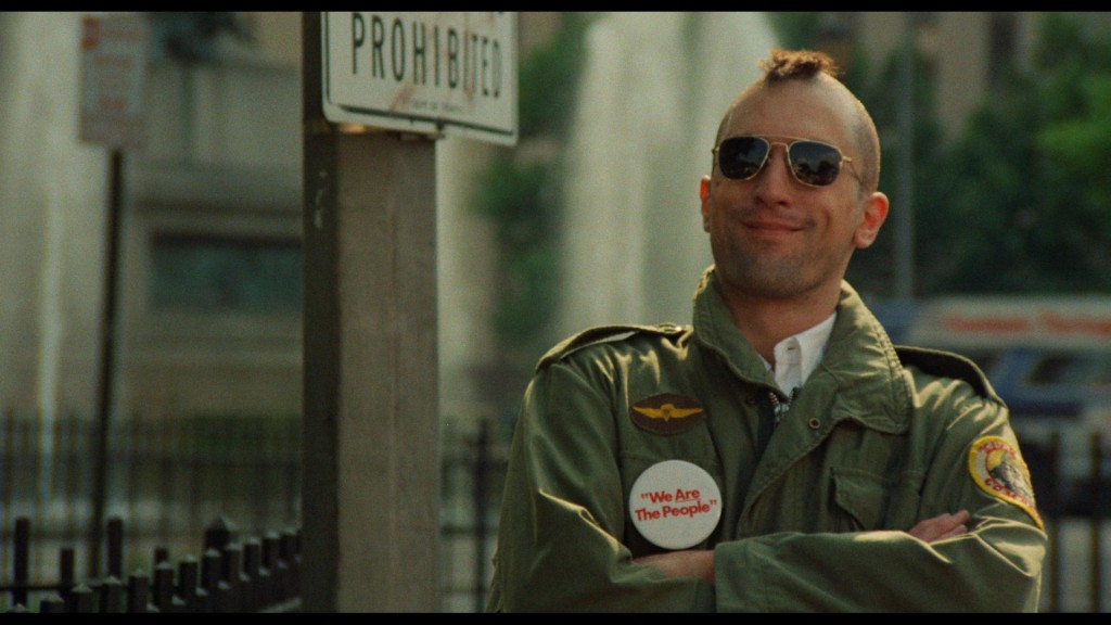 Robert De Niro in Taxi Driver, which celebrates its 40th anniversary this year