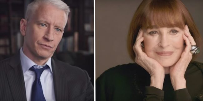 Anderson Cooper on mum Gloria Vanderbilt and new HBO documentary Nothing Left Unsaid