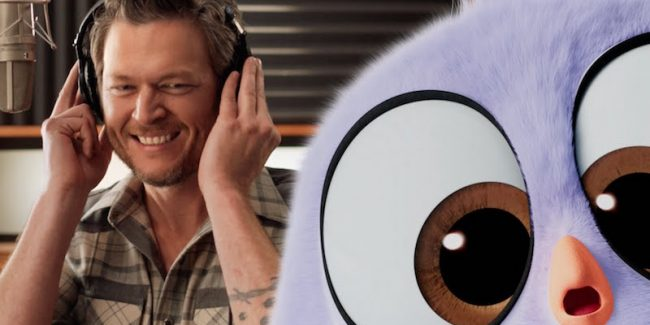 blake shelton friends angry birds 1 - Watch Blake Shelton's song Friends from The Angry Birds Movie