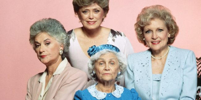 Thank your mom for being a friend with Golden Girls Forever