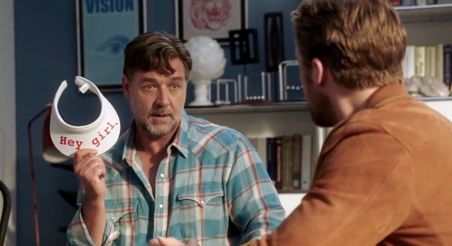 Russell Crowe and Ryan Gosling star in The Nice Guys
