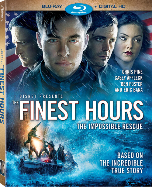On Blu-ray, The Finest Hours looks and sounds incredible.