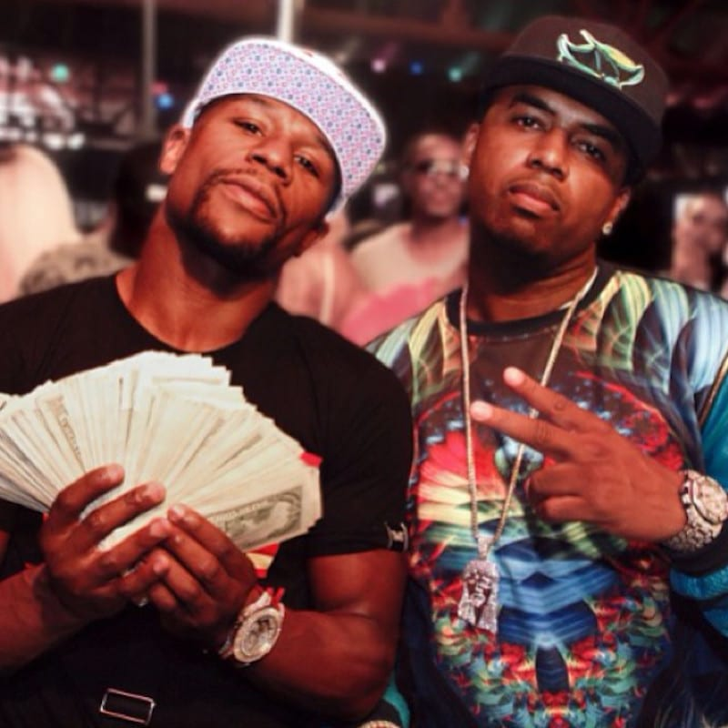 Floyd Mayweather Jr, the highest paid athlete in the world