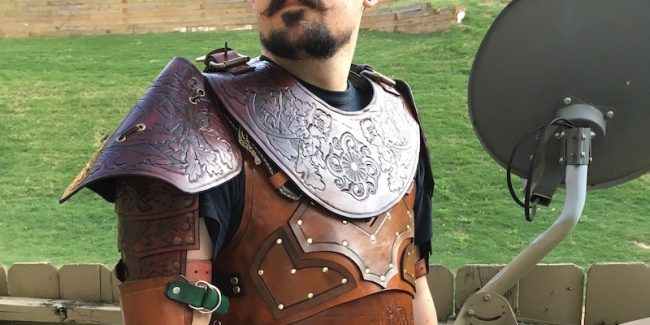 This guy made himself the most awesome leather armor ever