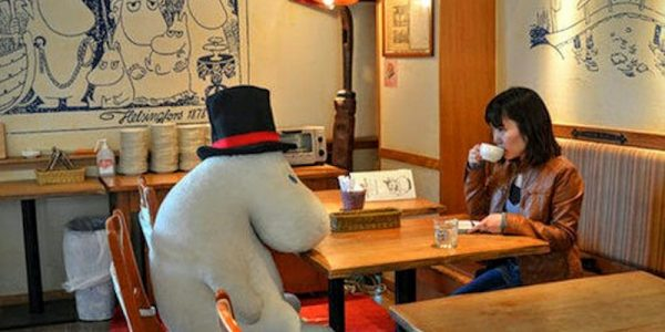 Eating alone? This restaurant will give you a stuffed animal for company