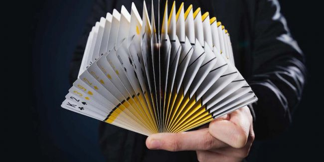 This video of professional card-shufflers will blow your mind