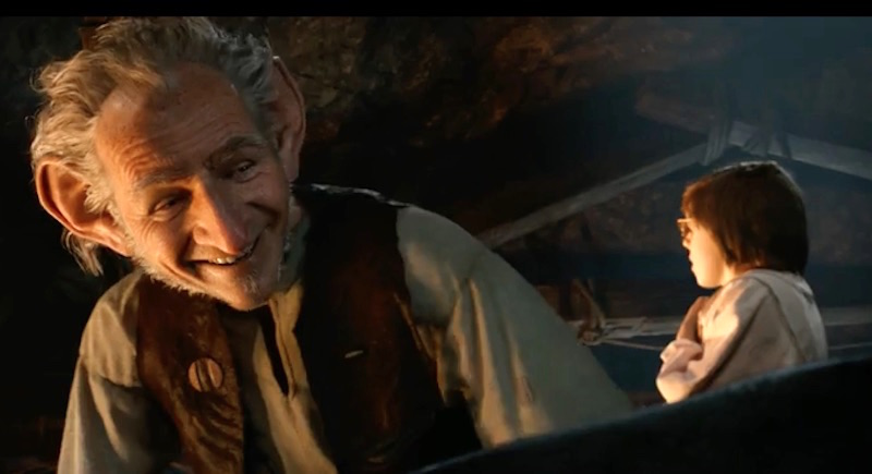 Disney give much better glimpse of The BFG in new trailer