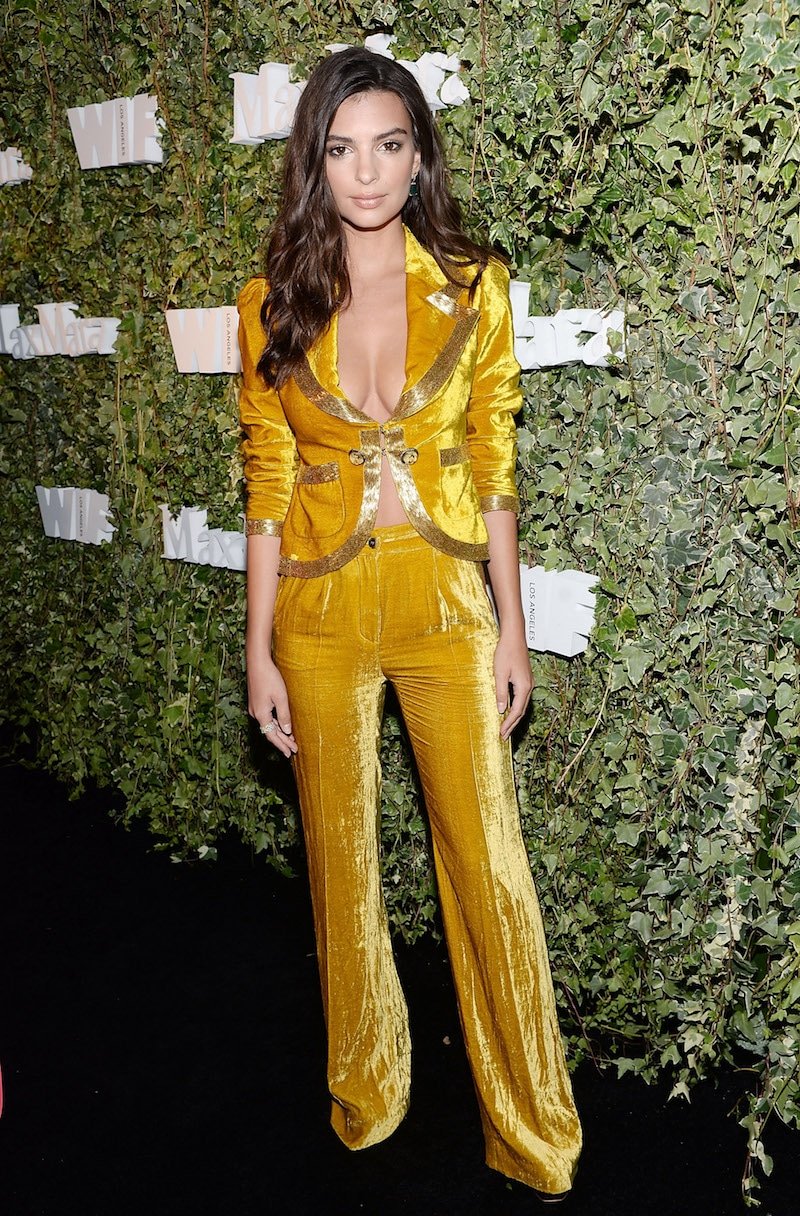 LOS ANGELES, CA - JUNE 14: Model Emily Ratajkowski attends Max Mara Celebrates Natalie Dormer - The 2016 Women In Film Max Mara Face Of The Future at Chateau Marmont on June 14, 2016 in Los Angeles, California. (Photo by Stefanie Keenan/Getty Images for Max Mara)