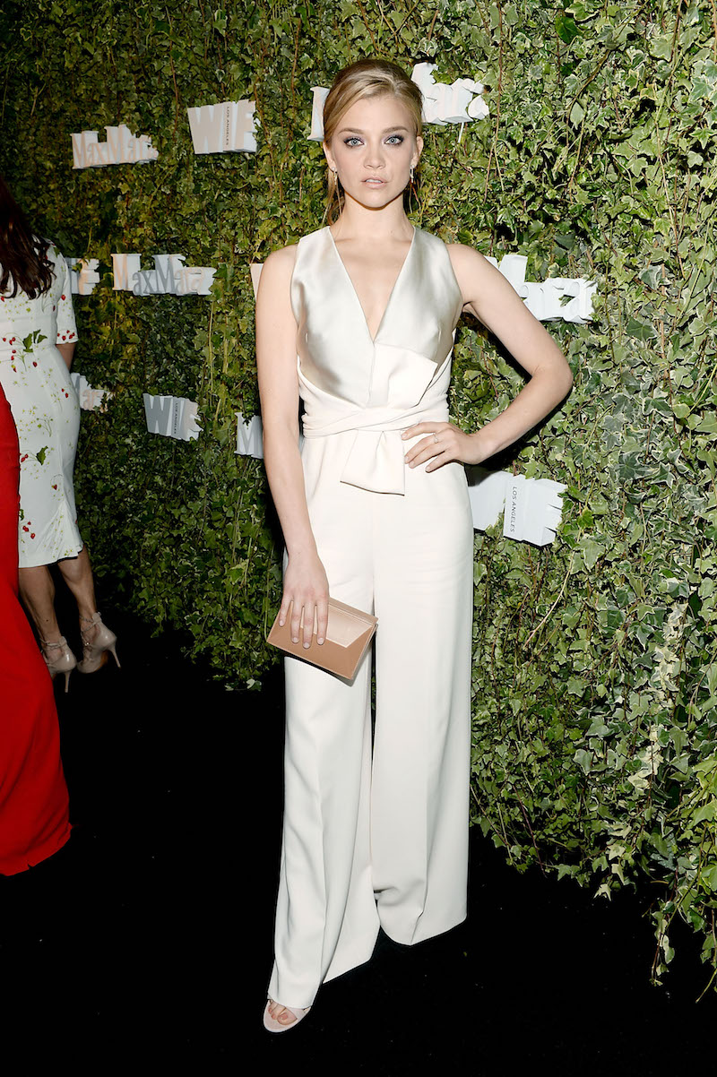 LOS ANGELES, CA - JUNE 14: Actress Natalie Dormer, wearing Max Mara, attends Max Mara Celebrates Natalie Dormer - The 2016 Women In Film Max Mara Face Of The Future at Chateau Marmont on June 14, 2016 in Los Angeles, California. (Photo by Stefanie Keenan/Getty Images for Max Mara)