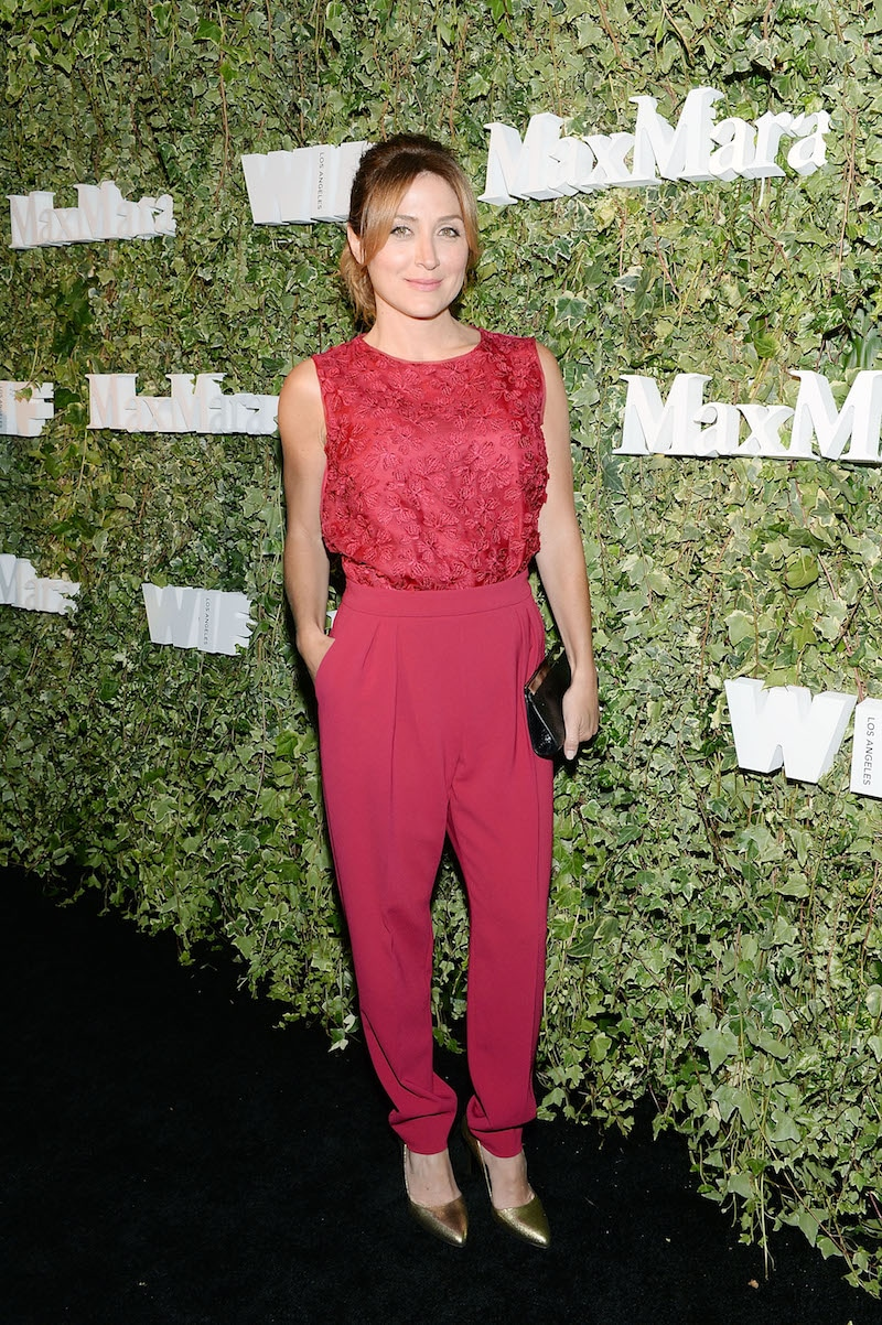 LOS ANGELES, CA - JUNE 14: Actress Sasha Alexander, wearing Max Mara, attends Max Mara Celebrates Natalie Dormer - The 2016 Women In Film Max Mara Face Of The Future at Chateau Marmont on June 14, 2016 in Los Angeles, California. (Photo by Stefanie Keenan/Getty Images for Max Mara)