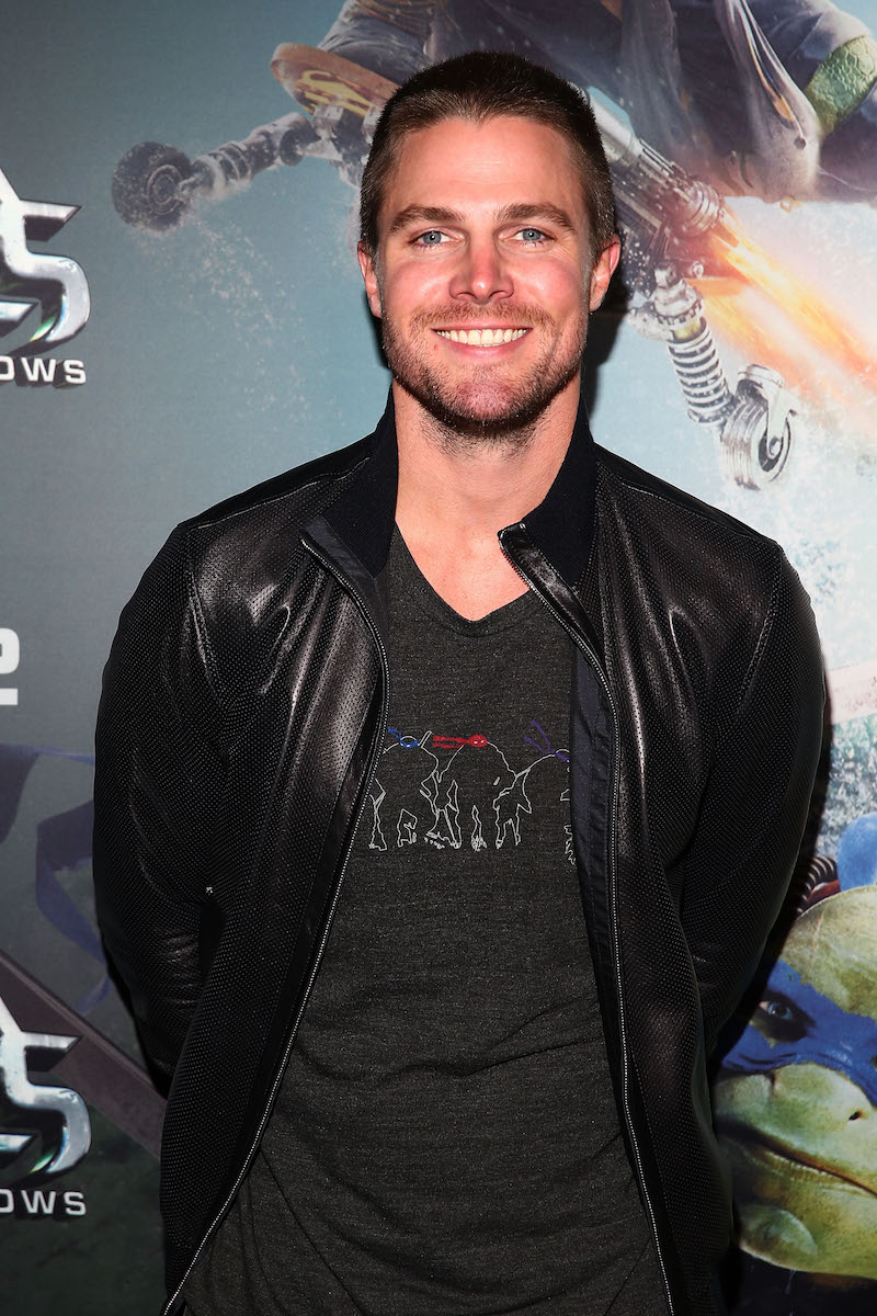 MELBOURNE, AUSTRALIA - MAY 30: Stephen Amell attends the Teenage Mutant Ninja Turtles: Out of the Shadows fan screening at Village Cinemas Jam Factory on May 30, 2016 in Melbourne, Australia. (Photo by Scott Barbour/Getty Images for Paramount Pictures) *** Local Caption *** Stephen Amell