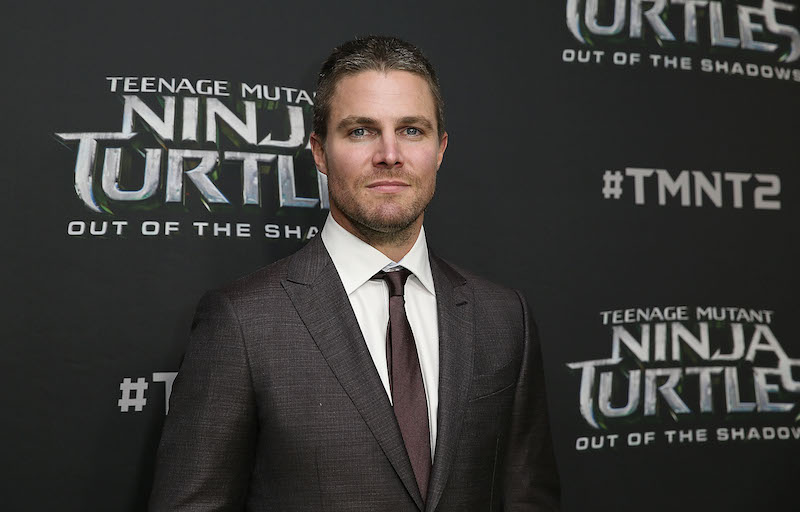 SYDNEY, AUSTRALIA - MAY 29: Stephen Amell arrives ahead of the Australian premiere of Teenage Mutant Ninja Turtles 2 at Event Cinemas George Street on May 29, 2016 in Sydney, Australia. (Photo by Caroline McCredie/Getty Images for Paramount Pictures) *** Local Caption *** Stephen Amell