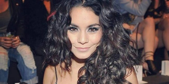 Vanessa Hudgens' HAIR is the star of Moschino catwalk show