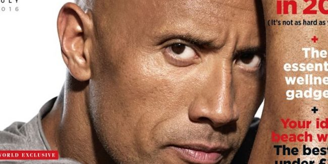 dwayne johnson gq - Dwayne Johnson: The idea of being president is 'alluring'