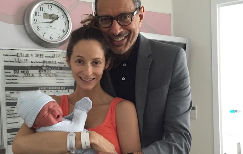 Jeff Goldblum: We planted son's dried-up umbilical cord under a tree